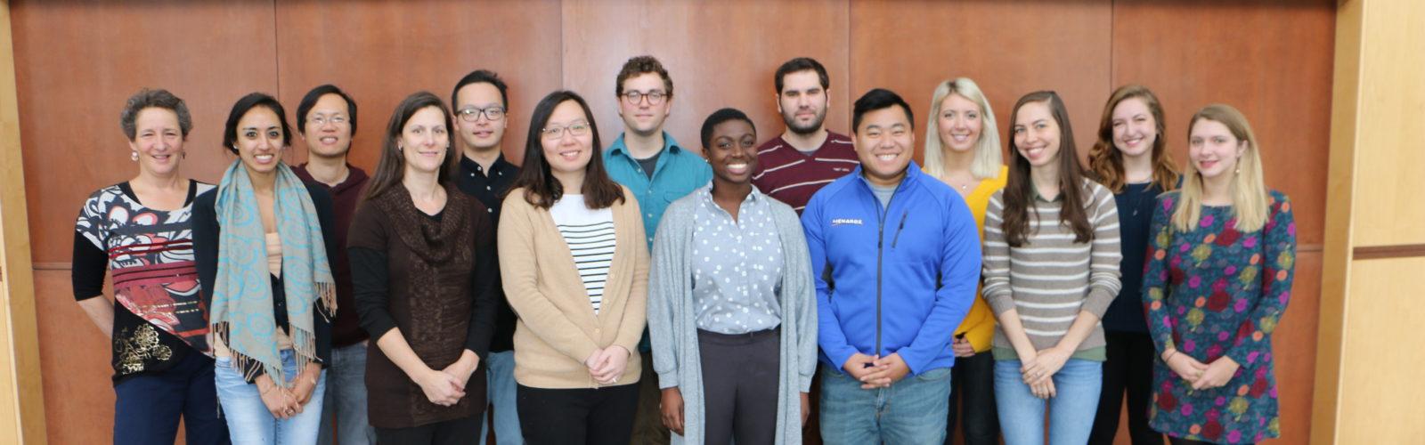 photo of binaural hearing and speech lab members